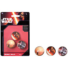 Buy Star Wars Bouncy Balls, Pack of 3 Online at johnlewis.com