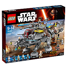 Buy LEGO Star Wars 75157 Captain Rex's AT-TE Online at johnlewis.com