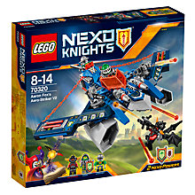 Buy LEGO Nexo Knights 70320 Aero Striker Online at johnlewis.com