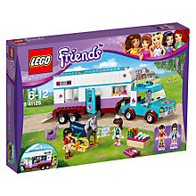 Buy LEGO Friends 41125 Horse Vet Trailer Online at johnlewis.com