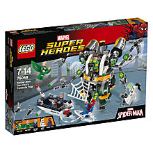 Buy LEGO Marvel Super Heroes 76059 Spider-Man Doc Ock's Tentacle Trap Online at johnlewis.com
