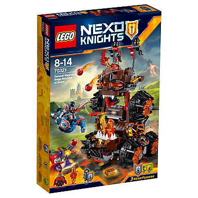LEGO Nexo Knights Siege Machine of Doom 70321