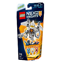 Buy LEGO Nexo Knights 70337 Ultimate Lance Online at johnlewis.com