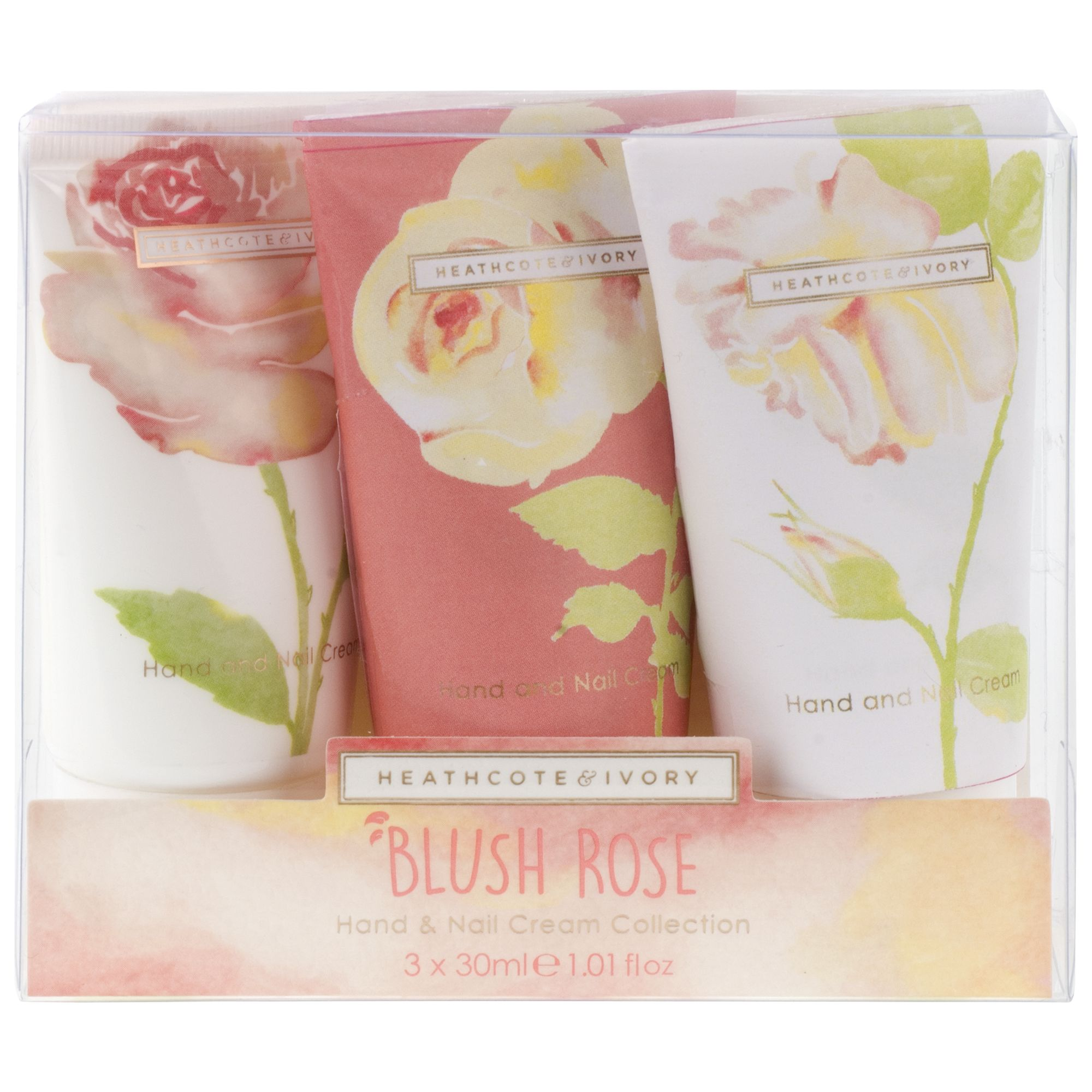 Heathcote & Ivory Heathcote & Ivory Blush Rose Hand & Nail Cream Collection