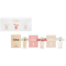 Buy Chloé  My Little Chloé's Trio Fragrance Gift Set Online at johnlewis.com