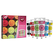 Buy John Lewis Rainbow Dust ProGel Food Colours, Set of 6 Online at johnlewis.com