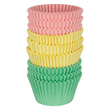 Buy John Lewis Pastel Cupcake Cases, Pack of 144 Online at johnlewis.com