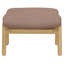 Buy John Lewis Johan Footstool, Hamble Hushed Pink Online at johnlewis.com