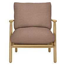 Buy John Lewis Johan Armchair, Hamble Hushed Pink Online at johnlewis.com