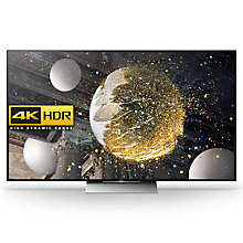 "Buy Sony Bravia 65XD9305 LED HDR 4K Ultra HD 3D Android TV, 65"" With Youview/Freeview HD, Playstation Now & Floating Style Design Online at johnlewis.com"