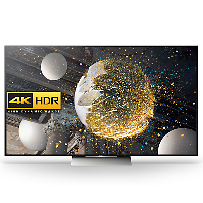 "Sony Bravia 55XD9305 LED Premium HDR 4K Ultra HD 3D Android TV, 55"" With Youview/Freeview HD, Playstation Now & Floating Style Design, Black"