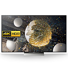 "Buy Sony Bravia 55XD9305 LED Premium HDR 4K Ultra HD 3D Android TV, 55"" With Youview/Freeview HD, Playstation Now & Floating Style Design, Black Online at johnlewis.com"