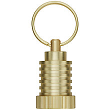 Buy Tom Dixon Brass Cog Keyring Online at johnlewis.com