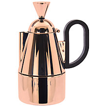 Buy Tom Dixon Brew Stove Top Coffee Maker Online at johnlewis.com