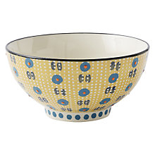 Buy west elm Potter's Workshop Dip Bowl, Yellow Online at johnlewis.com