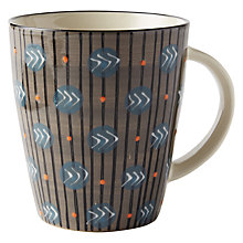 Buy west elm Potter's Workshop Mug, Taupe Online at johnlewis.com