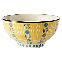 Buy west elm Potter's Workshop Bowl, Yellow Online at johnlewis.com