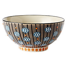 Buy west elm Potter's Workshop Bowl, Taupe Online at johnlewis.com
