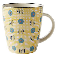 Buy west elm Potter's Workshop Mug, Yellow Online at johnlewis.com