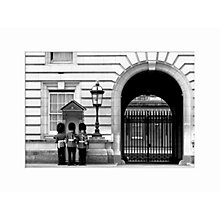 Buy Nicki Gorick - Guards at the Palace Unframed Print, 40 x 30cm Online at johnlewis.com