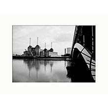 Buy John Lewis, Nicki Gorick, Battersea Power Station, 40 x 30cm Online at johnlewis.com