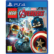 Buy LEGO Marvel Avengers, PS4 Online at johnlewis.com