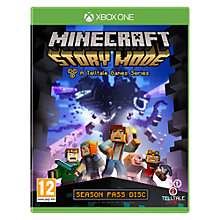 Buy Minecraft: Story Mode, Xbox One Online at johnlewis.com