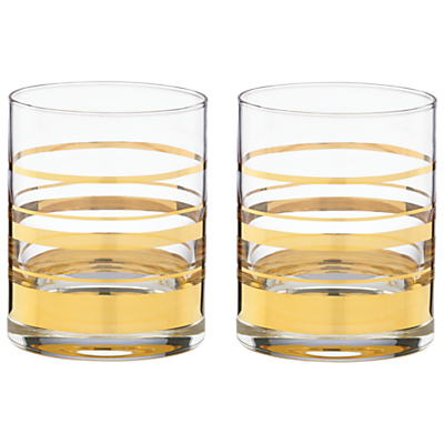 kate spade new york Hampton Street Tumbler, Set of 2