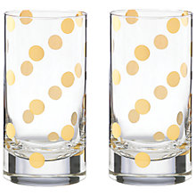 Buy kate spade new york Pearl Place Highball, Set of 2 Online at johnlewis.com