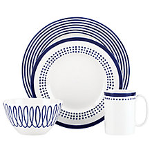 Buy kate spade new york Charlotte Street East Place Setting, 4 Pieces Online at johnlewis.com