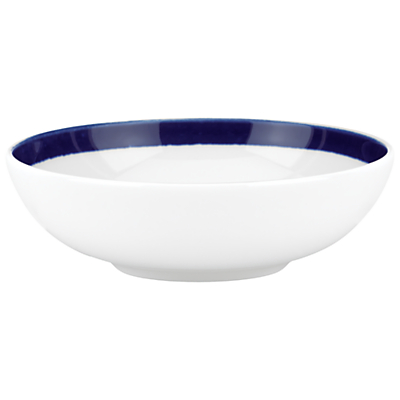 kate spade new york Charlotte Street Fruit Bowl, White / Blue