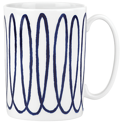 kate spade new york Charlotte Street West Mug, White / Blue
