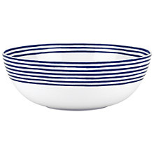 Buy kate spade new york Charlotte Street Serving Bowl, White / Blue Online at johnlewis.com