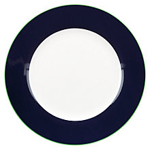 Buy kate spade new york Hopscotch Drive Dinner Plate, White / Navy Online at johnlewis.com