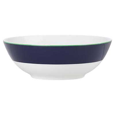 kate spade new york Hopscotch Drive Cereal Bowl, White / Navy