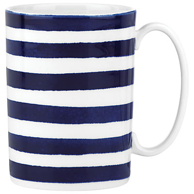 kate spade new york Charlotte Street North Mug, White / Blue