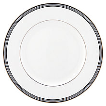 Buy kate spade new york Parker Place Platinum Rim Bone China Dinner Plate Online at johnlewis.com