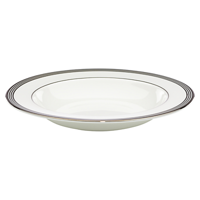 kate spade new york Parker Place Platinum Rim Bone China Soup Bowl
