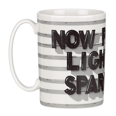 kate spade new york 'Now Playing; Light The Sparklers' Mug