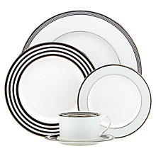 Buy kate spade new york Parker Place Platinum Rim Place Setting, 5 Pieces Online at johnlewis.com