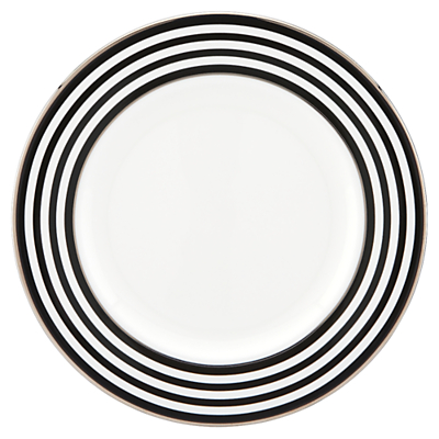 kate spade new york Parker Place Platinum Rim Bone China Salad Plate
