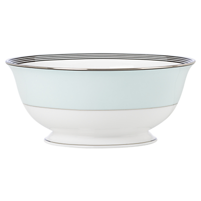 kate spade new york Parker Place Platinum Rim Bone China Serve Bowl