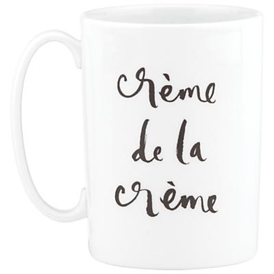 kate spade new york 'Creme De La Creme' Mug