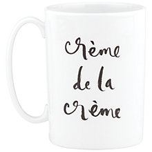 Buy kate spade new york 'Creme De La Creme' Mug Online at johnlewis.com
