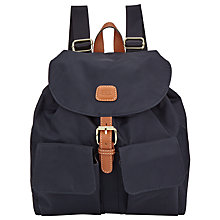 Buy Bric's X-Travel Backpack, Navy Online at johnlewis.com