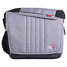 Buy BabaBing DayTripper City Changing Bag, Grey Online at johnlewis.com