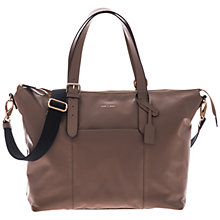 Buy Jem + Bea Beatrice Tote Changing Bag, Taupe Online at johnlewis.com