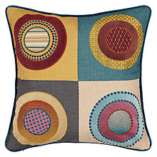 Buy Mulberry Home Dress Circle Cushion, Multi Online at johnlewis.com