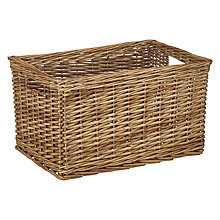Buy John Lewis Croft Collection Wicker Basket, Large Online at johnlewis.com