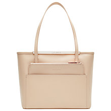Buy Ted Baker Amilee Small Crosshatch Leather Shopper Bag Online at johnlewis.com